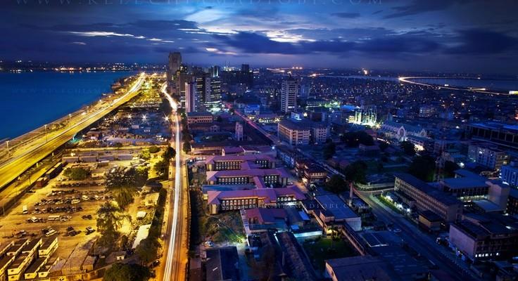 Lagos by night